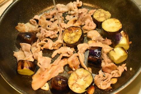 豚肉と茄子の塩レモン炒め (7)