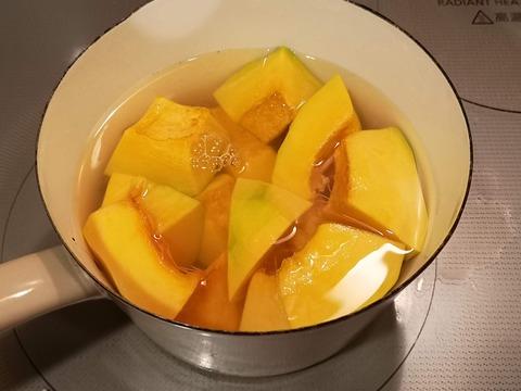 カボチャトマト団子 (3)