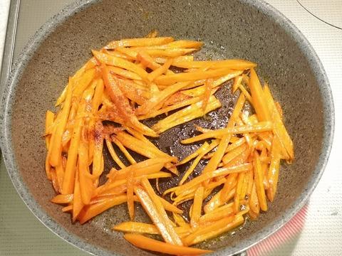 にんじんのスパイス炒め (4)