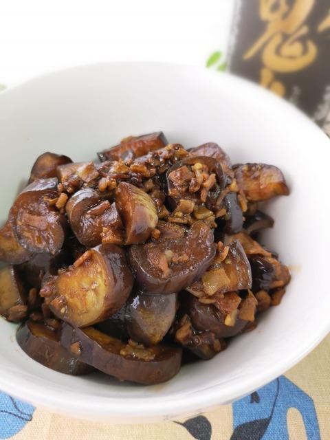 麻婆茄子風常備菜 (1)