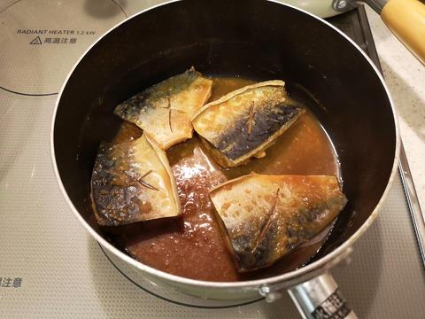 鯖のにんにく味噌煮 (7)