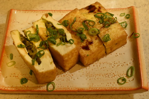 厚揚げの高菜詰め (6)