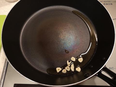 ピーマンの辛味噌炒め (2)