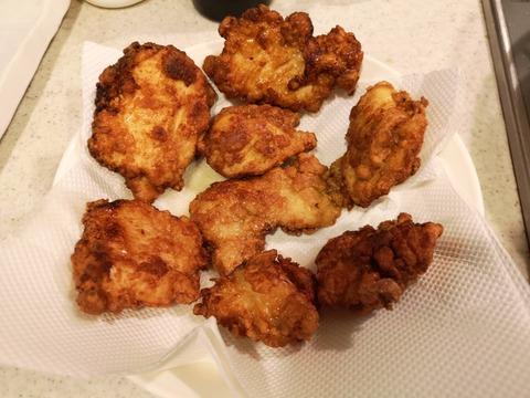 鶏むね肉の大判唐揚 (7)