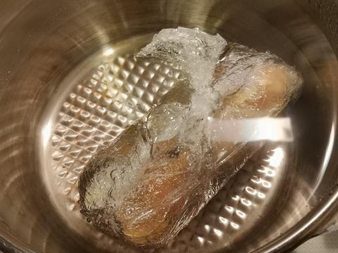 カレー鶏ハム (4)