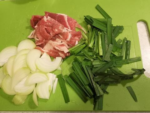 豚カレー丼 (2)