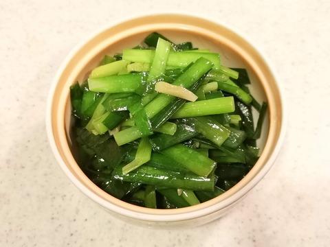 ニラの辛子和え (6)