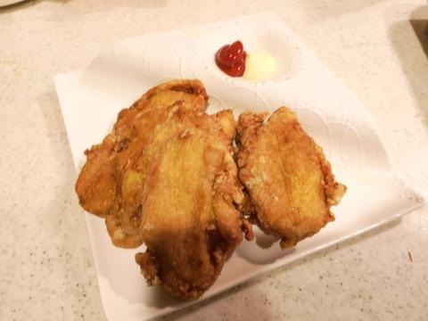 鶏むね肉のスパイス唐揚 (9)