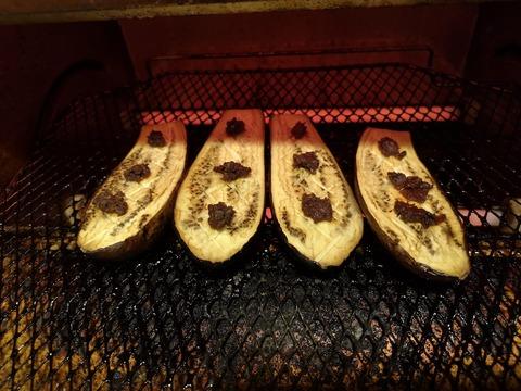 茄子のごま味噌焼き (5)