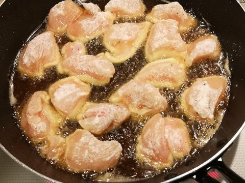 鶏むね肉の甘酢和え (4)
