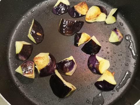 夏野菜の玉子丼 (5)