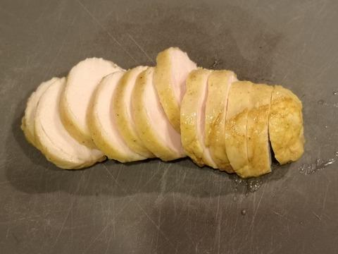 カレー鶏ハム (6)