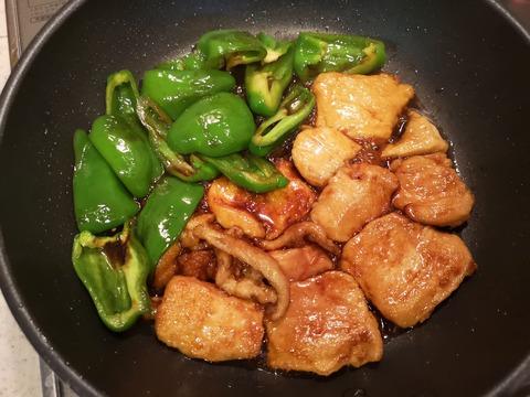 鶏むね肉の照焼き丼 (8)