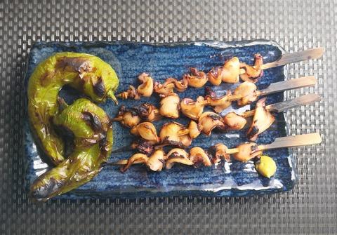 えんぺらの串焼き (1)