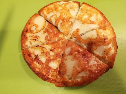 ジャガイモのチーズピザ (8)