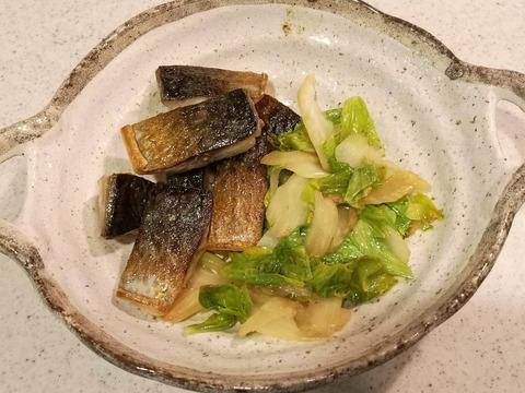 鯖とセロリのさっぱり炒め (7)