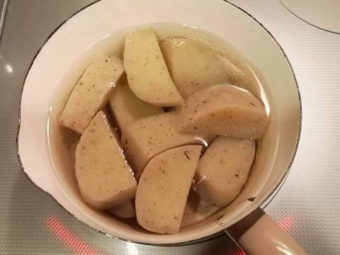 玉こんにゃくと義勇肉の煮物 (4)