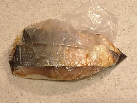 鮭の生姜マヨ焼き (2)