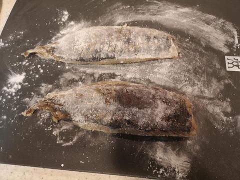 鯵のサラダ丼 (5)
