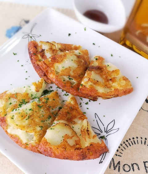 ジャガイモのチーズピザ (1)