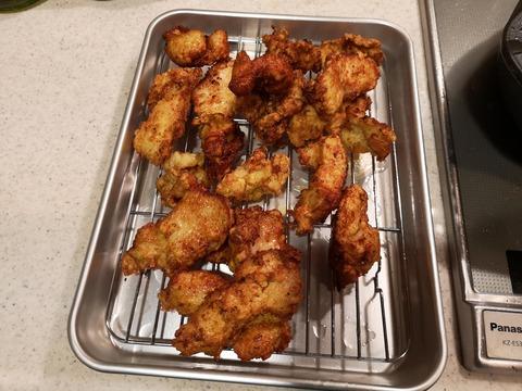 鶏むね肉のフライドチキン (9)