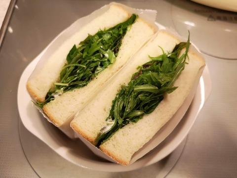 ベビーリーフサンドイッチ (8)