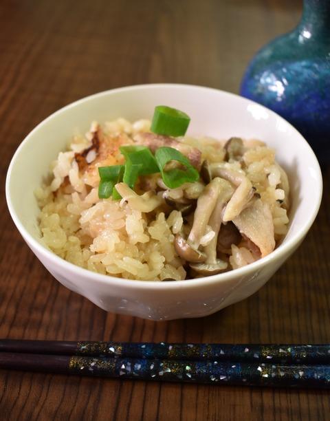 豚肉としめじの炊き込みご飯 (1)