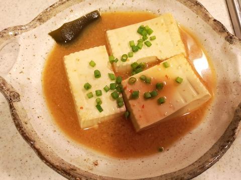 ピリ辛味噌豆腐 (5)