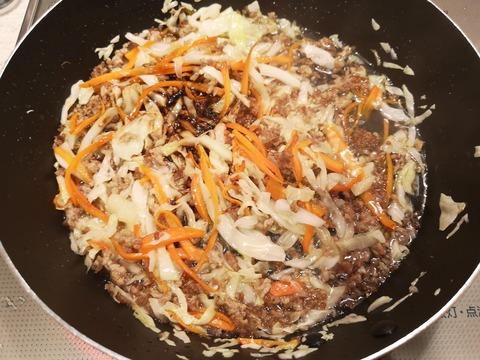 キャベツたっぷり混ぜご飯 (5)
