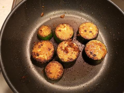 ズッキーニの味噌焼き (7)