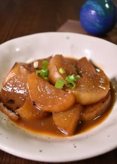 焼肉のタレ大根 (1)