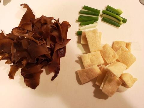 きくらげと厚揚げの味噌炒め (2)