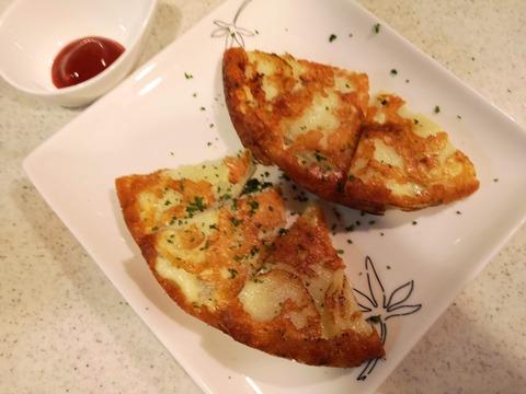 ジャガイモのチーズピザ (9)