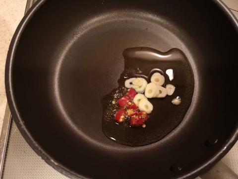 ミニトマトのピリっとサラダ (3)