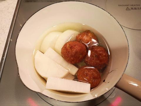 鯛の揚げ団子煮 (8)