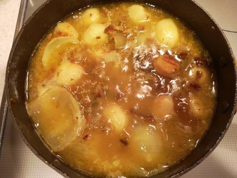里芋と牛肉のカレー (10)
