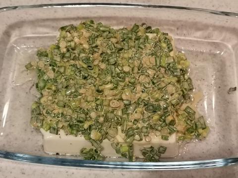豆腐のねぎマヨ焼き (5)