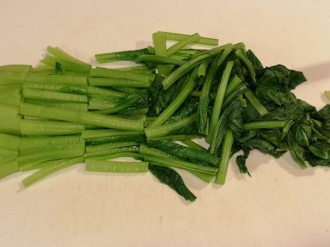 小松菜のごま味噌和え (5)