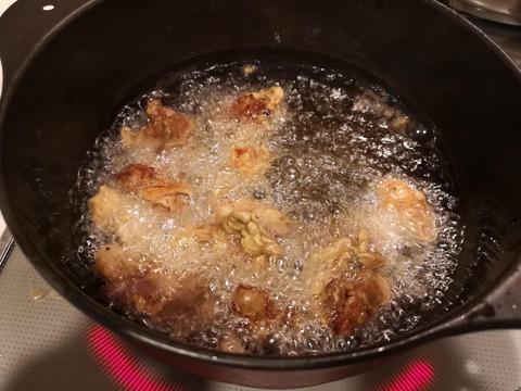 鶏レバーの唐揚 (7)