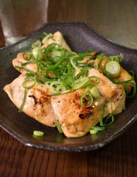 鶏むね肉のねぎゴマソテー (2)