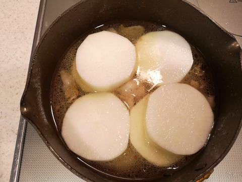 大根の豚肉のレモン煮 (6)