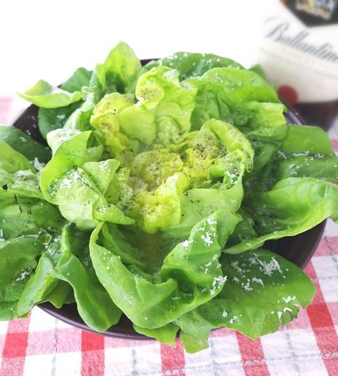 サラダ菜のフラワーサラダ (1)