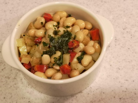 蒸し大豆と根菜のダイスサラダ (6)