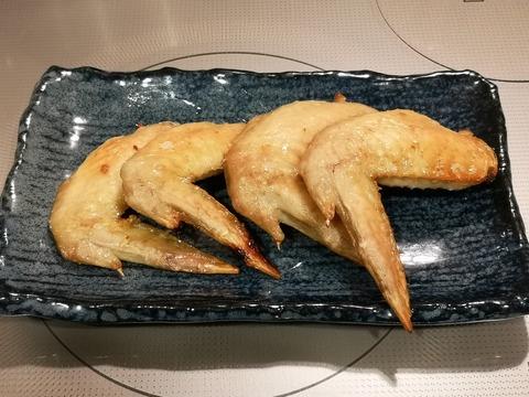 鶏場先のんにく塩焼き (5)