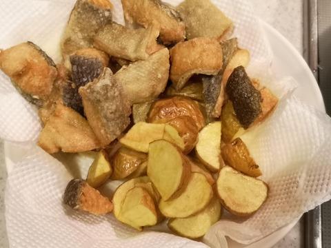 鮭とジャガイモの和風マヨネーズ和え (7)