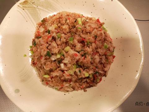 紅ショウガ炒飯 (6)