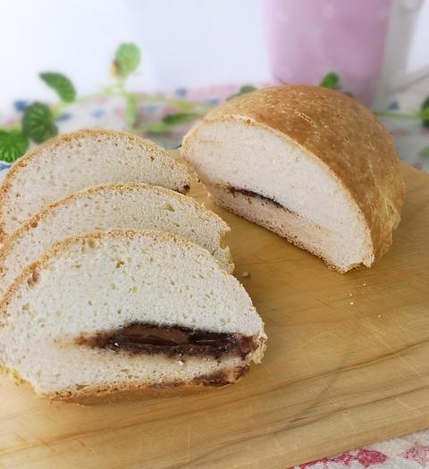 ホットケーキミックスパン (1)