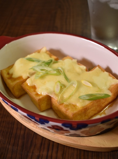 厚揚げのチーズポン酢 (1)
