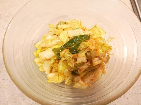 白菜の辛味和え (5)