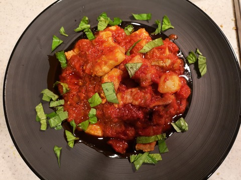 豚バラ肉のトマト煮込み (8)